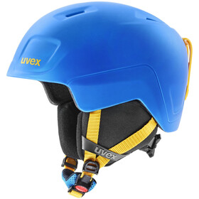 UVEX Heyya Pro Helm Kinderen, blue-yellow mat